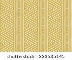 tribal ethnic seamless african... | Shutterstock .eps vector #333535145