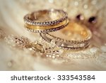 Beautiful Gold Background With...