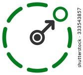 circular area border vector... | Shutterstock .eps vector #333543857