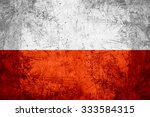 Flag of poland or polish banner ...
