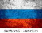 flag of russia or russian... | Shutterstock . vector #333584324