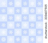 winter seamless pattern.... | Shutterstock . vector #333607505