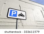 Road Sign For Parking...