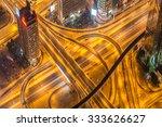 Dubai Road Junction During...