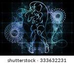 human tangents series.... | Shutterstock . vector #333632231