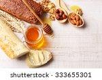 healthy breakfast with bread ...   Shutterstock . vector #333655301