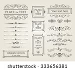 design elements | Shutterstock .eps vector #333656381