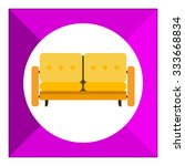 couch icon | Shutterstock .eps vector #333668834