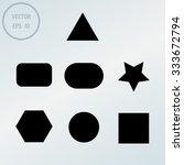 geometric shapes | Shutterstock .eps vector #333672794