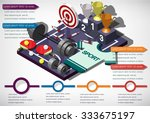 illustration of info graphic... | Shutterstock .eps vector #333675197