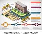 illustration of info graphic... | Shutterstock .eps vector #333675209