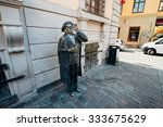 stockholm  sweden   circa july... | Shutterstock . vector #333675629