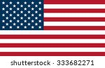 flag of the united states of... | Shutterstock .eps vector #333682271