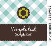 greeting card | Shutterstock .eps vector #33369931