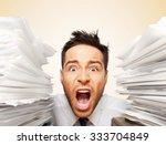 emotional stress. | Shutterstock . vector #333704849