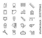 design icon set | Shutterstock .eps vector #333709661
