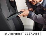 close up of cheerful car repair ... | Shutterstock . vector #333714554