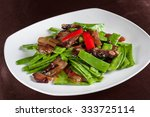 Stir Fried Smoked Pork With...