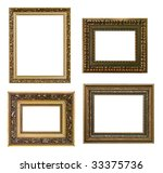 set of four frames - stock photo