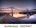 Hdr Image Of Bridge Over The...