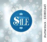 Winter Sale Poster Design...
