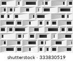3d industrial monochrome... | Shutterstock .eps vector #333830519