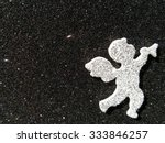 angel with black background | Shutterstock . vector #333846257