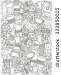 Pattern For Coloring Book. A4...