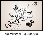 abstract vintage pattern | Shutterstock .eps vector #33385480