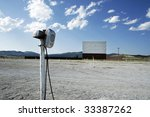 An Abandoned Drive In Movie...