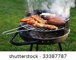 barbecue | Shutterstock . vector #33387787