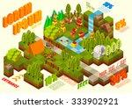 isometric flat 3d design ... | Shutterstock .eps vector #333902921