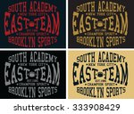 south academy graphic design ... | Shutterstock .eps vector #333908429