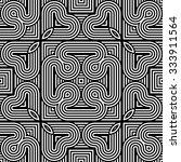 design seamless monochrome... | Shutterstock .eps vector #333911564