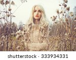 outdoor fashion photo of young... | Shutterstock . vector #333934331