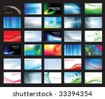 illustration of large set of... | Shutterstock . vector #33394354