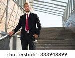 portrait of a businessman... | Shutterstock . vector #333948899