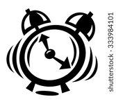 alarm clock | Shutterstock .eps vector #333984101