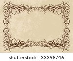 vintage background | Shutterstock .eps vector #33398746