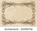 vintage background | Shutterstock .eps vector #33398746