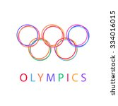 Olympics Circles Sport Icon