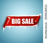 big sale vector illustration.... | Shutterstock .eps vector #334018421