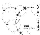 vector technology concept.... | Shutterstock .eps vector #334018451