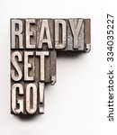 "the phrase ""ready  set  go "" in ... 