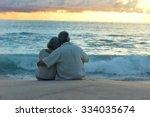 Beautiful Happy Elderly Couple...