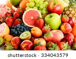 composition with assorted... | Shutterstock . vector #334043579