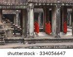 Angkow Wat Temple  Siem Riep ...