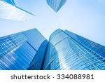 business skyscraper building in ... | Shutterstock . vector #334088981