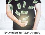 how to earn money online concept   Shutterstock . vector #334094897