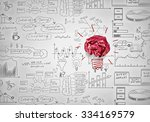 inspiration concept with... | Shutterstock . vector #334169579